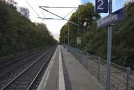 Da sind die Bürger-, äh, Bahnsteige hochgeklappt...
