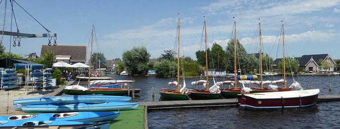 Yachthafen Nieuwkoop.