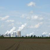 Kohlekraftwerke. Nicht schön.