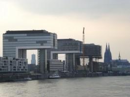 Kranhäuser am Rheinauhafen