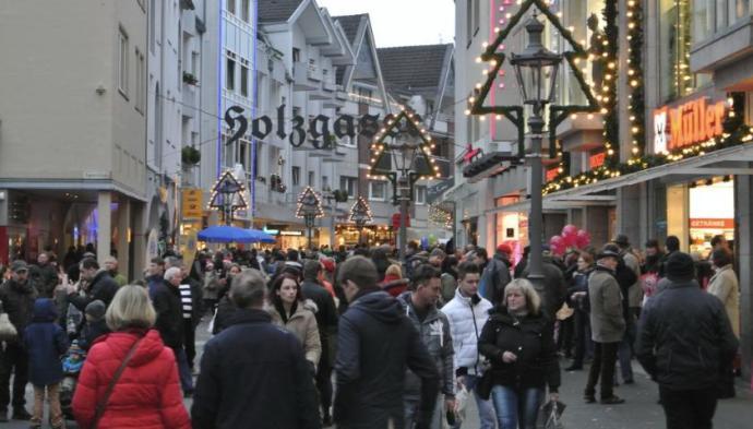 Fix was los am verkaufsoffenen Sonntag in Siegburg.