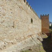 Stadtmauer von außen.
