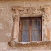 Ein altes Renessaince-Fenster.