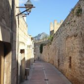 Stadtmauer Alcúdia.