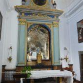 Die Kapelle der Einsiedelei.