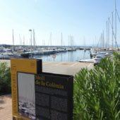 Der Yachthafen von Colonia Sant Pere.