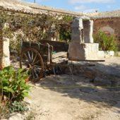 Der Innenhof der alten Finca.
