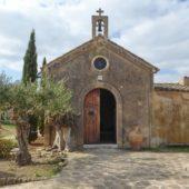 Die Hauskapelle der riesigen Finca.