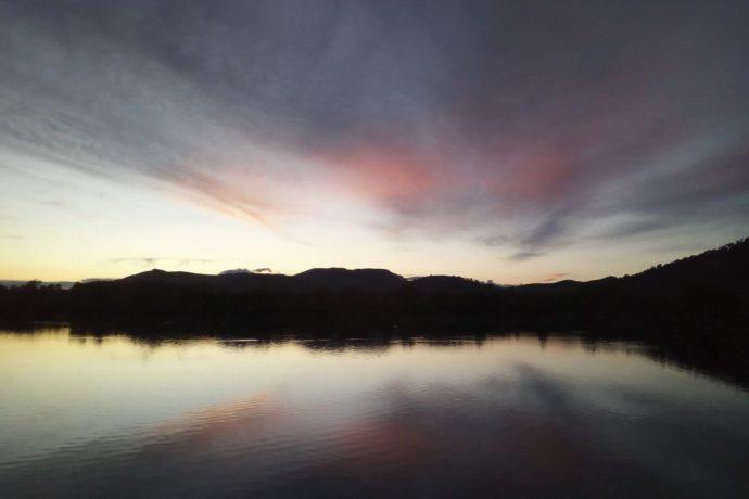 Die Lagune in Alcúdia. (Übrigens ein unbearbeitetes Handyfoto ...)